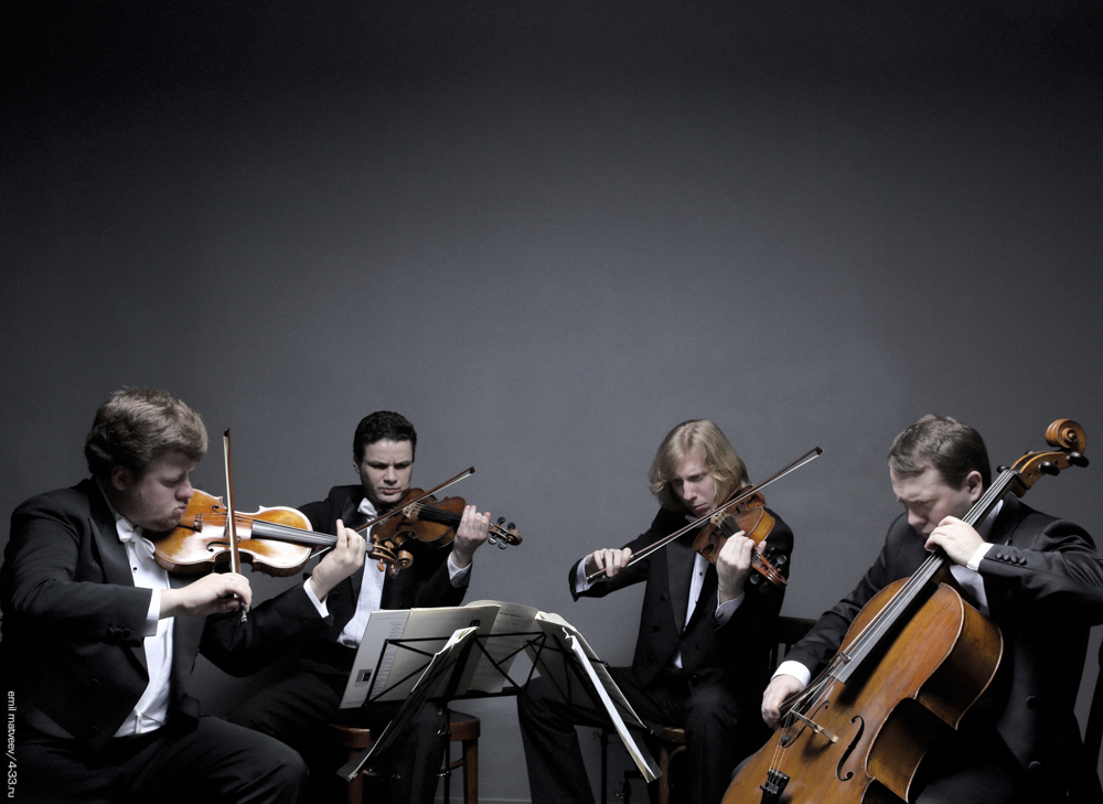 Premiere of Philippe Hersant's 5th quatuor during the 26th Festival des forêts